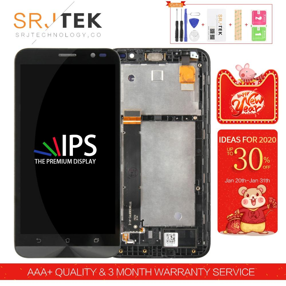 Srjtek screen For <font><b>Asus</b></font> ZenFone Go TV TD-LTE ZB551KL LCD <font><b>X013D</b></font> Display Touch Digitizer Glass Assembly 5.5inch X013DB Display image
