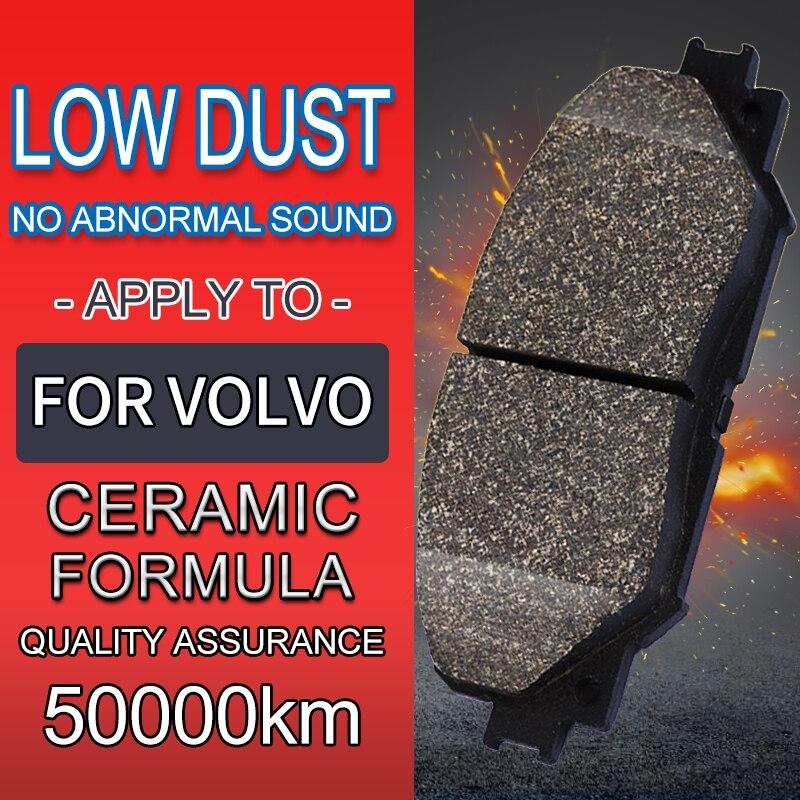 4 pièce/ensemble plaquettes de frein en céramique de voiture, chaussures de frein, pour VOLVO XC Classic (2014-2016) 2.5T T5
