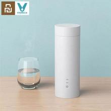 Youpin Viomi חשמלי מים כוס 400ml בקבוק תרמוס תבשיל כוסות מגע בקרת Drinkware להתחמם עבור תה קפה נסיעות חיצוני