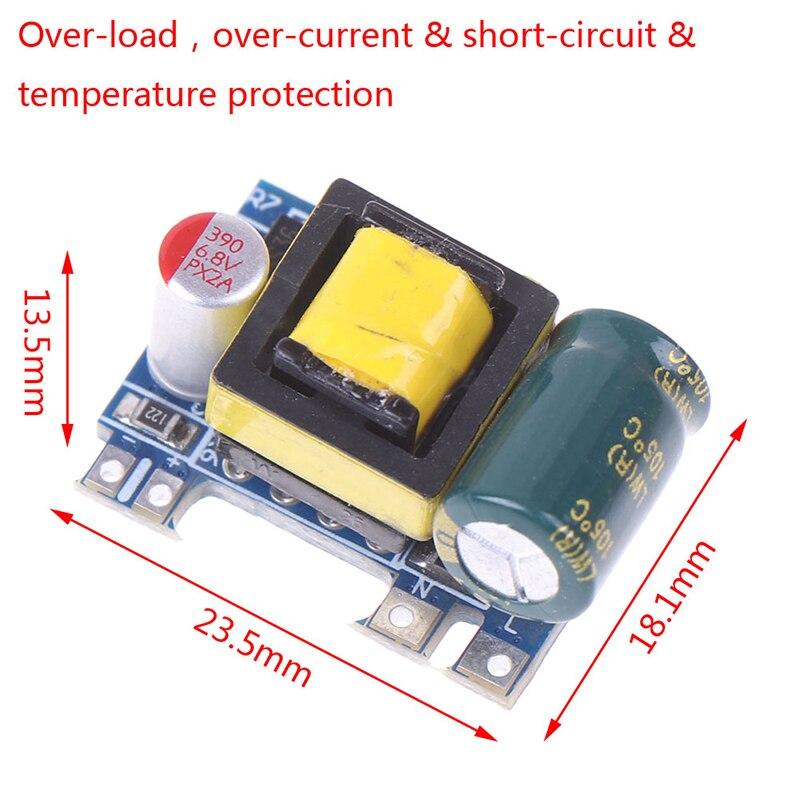 Mini AC-DC 110V 120V 220V 230V To 5V 12V преобразователь платы модуля питания, изолированный коммутационный модуль питания