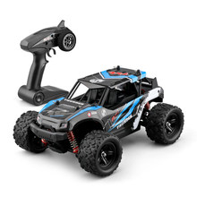 1:18 High Speed Remote Control Vehicle Car Professional Bigfoot Four-wheel Climbing Off-road Racing Car 4WD Gift for Children(China)