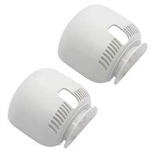 Soporte de Router para Google Nest Wifi soporte de montaje en pared con Cable de seguridad y fácil uso en casa en todas partes 2 uds