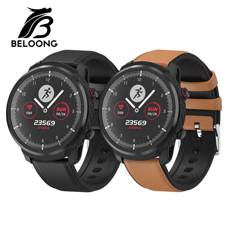 Смарт часы BELOONG L3S с полным сенсорным экраном, пульсометр, монитор артериального давления, мульти спортивные режимы, IP68 Водонепроницаемый фи
