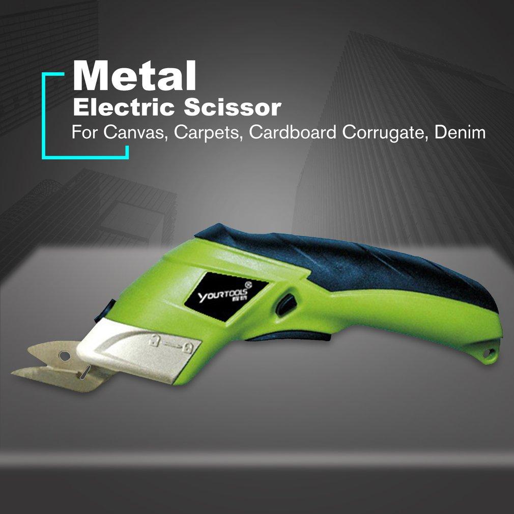 Electric Fabric Scissors Box Cutter Cordless Shears Cutting Tool For Crafts Sewing Cardboard Scrapbooking CS4001 EU Plug