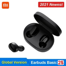 Xiaomi mi verdadeiro fones de ouvido sem fio básico 2s bluetooth 5.0 controle de toque airdots 2s modo de jogo fone de ouvido tipo-c fone de ouvido