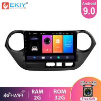 EKIY 2.5D IPS Android 9.0 Radiofonico Auto Lettore Multimediale Per Hyundai Gran I10 2013 2014 2015 2016 Audio Video Auto GPS di Navigazione