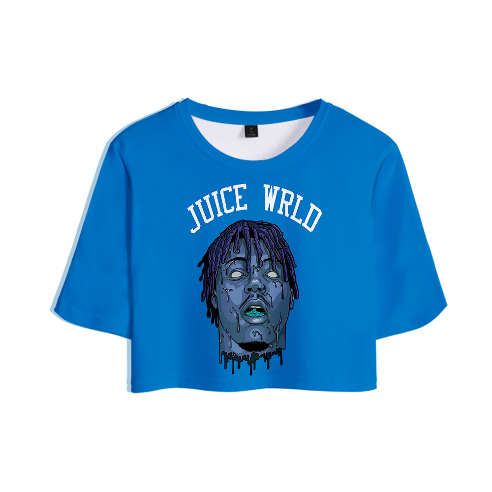 Salute to Rapper Juice WRLD Hip hop emo trap Lucid Dreams <font><b>3D</b></font> Tops Girl Short <font><b>t</b></font>-<font><b>shirt</b></font> Women <font><b>Sexy</b></font> Sale Casual <font><b>T</b></font> <font><b>shirt</b></font> Clothes image