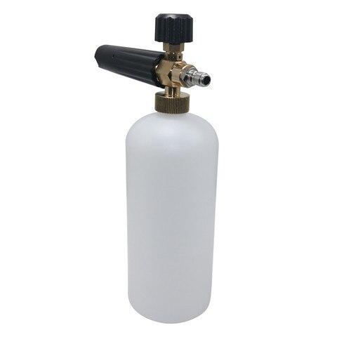 1 pcs espuma de lavagem do carro lance espuma pote de espuma domestico spray de