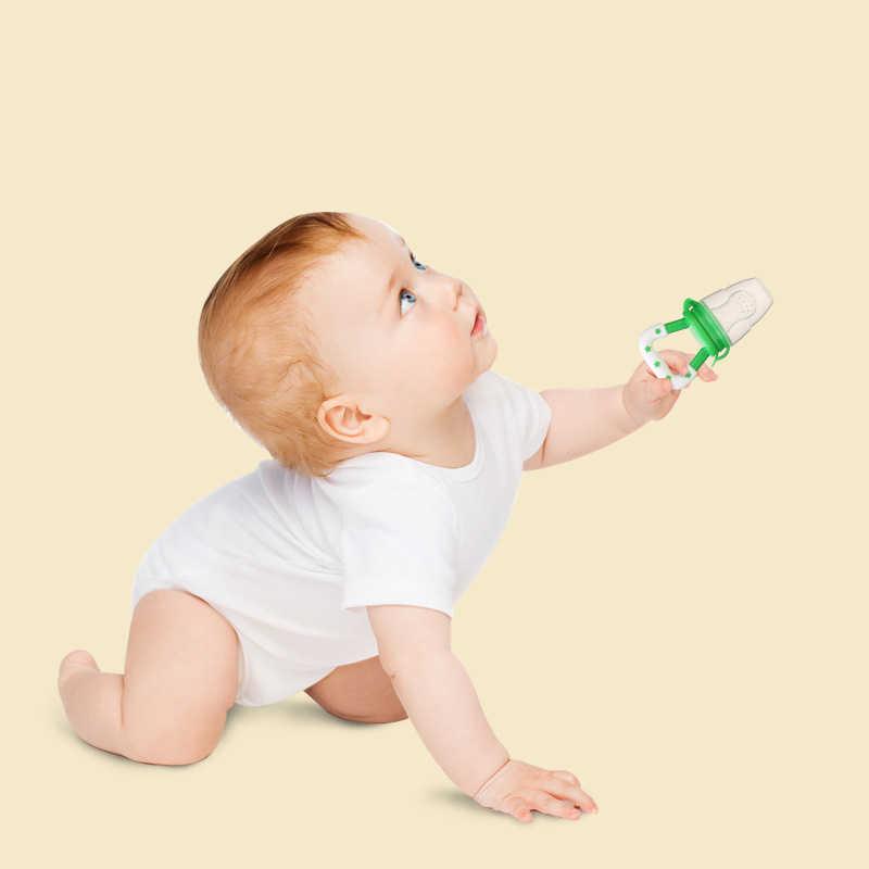 Nuevos chupete de alimentos para bebé clips para chupete de bebé alimentador de pezones de silicona chupete de frutas suministros de alimentación infantil chupete pezones