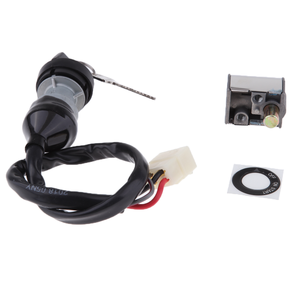 CFMOTO Ignition Key Switch With Fuel Tank Cap Lock Key Switch Kit Fit For CFMOTO-CF800-2-x8-7020-010100