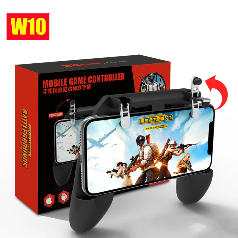 W10 Gamepad Portable MV Four In One PUBG Joystick Afstands Bediening IOS Android Mobiele Game Handvat Controller Interactive Toy