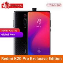 Privilegio Edizione Xiaomi Redmi K20 Pro 12GB 512GB Snapdragon 855 Più SmartPhone Da 6.39 Pollici AMOLED 48MP Triple Macchina Fotografica 4000mAh