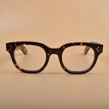 Johnny Depp Montura de gafas ópticas para hombre y mujer, lentes para ordenador, marco de gafas de acetato para hombre, Z321 2 Vintage