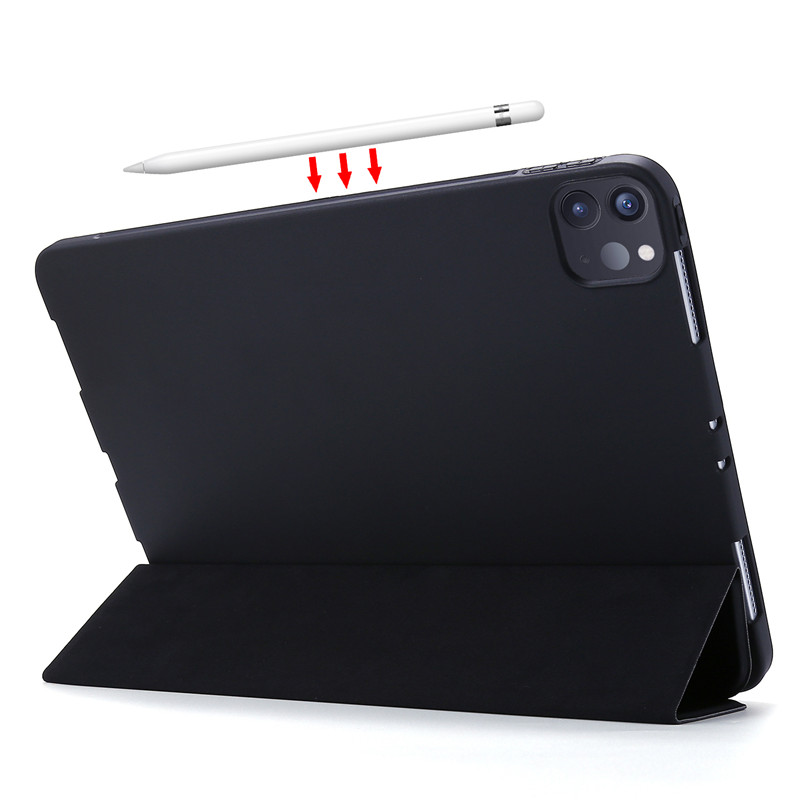 Cover iPad Tri-fold Silicone Leather Soft For PU 2020 Smart 11Pro Case Case Case For
