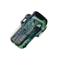 Explorer Außenbereich Wasserdicht Winddicht Doppel Arc Puls Plasma Zigarette Rauchen Leichter USB Lade Elektrische Metall Leichter-in Zigarette Zubehör aus Heim und Garten bei