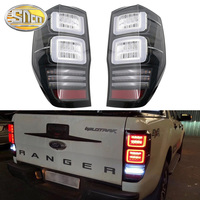 LED Tail Lamp for Ford Ranger T6 T7 T8 2012 ~ 2019 Left Right LED Tail Light Reverse Light Sequential Turning Signal