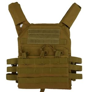 Image 3 - jpc 600D Hunting Tactical Vest Military Molle Plate Carrier Magazine Airsoft Paintball CS Outdoor Protective Lightweight Vest