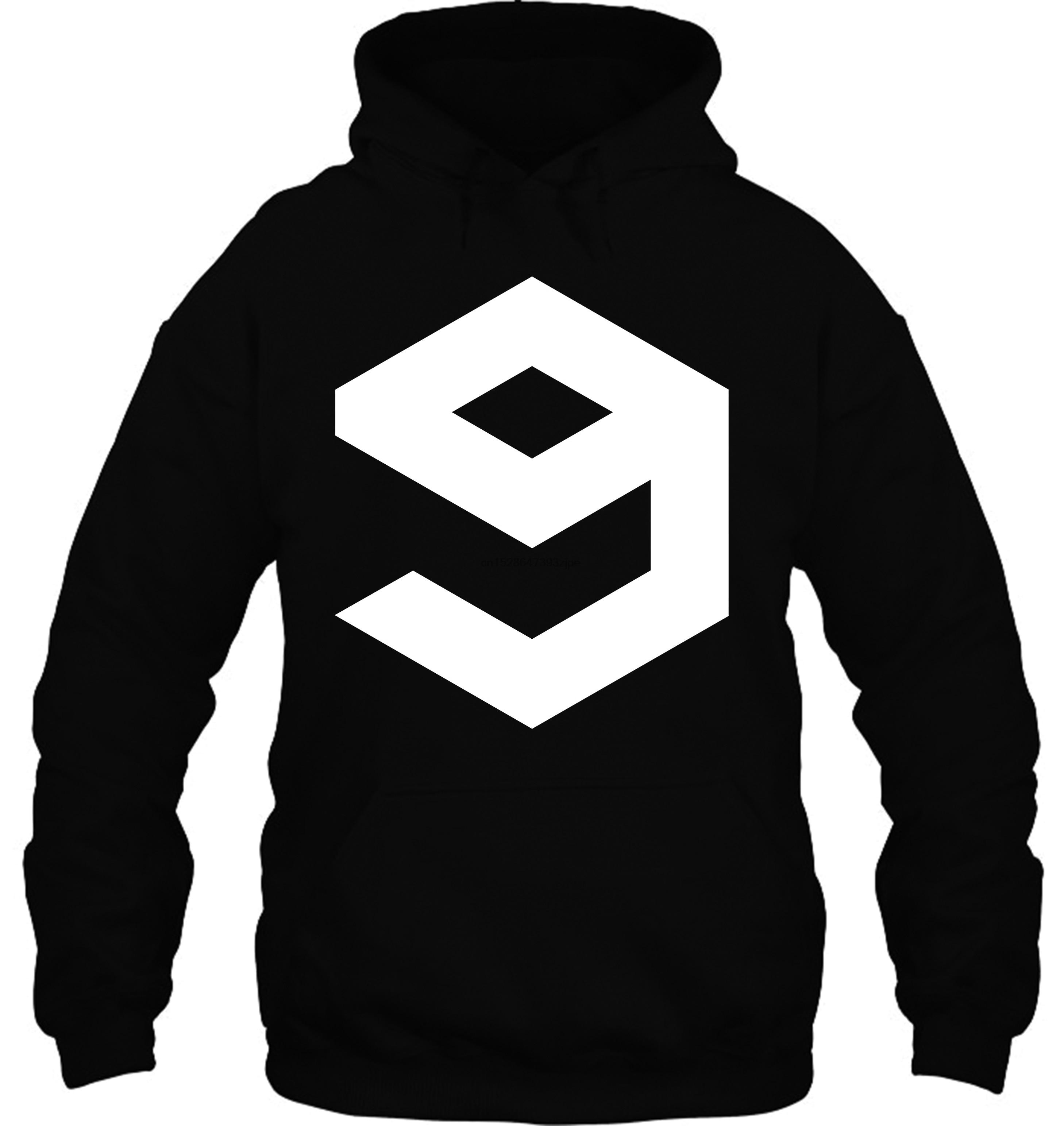 Funny 9gag Symbol Men& Black Clothing Streetwear Men Women Hoodies Sweatshirts