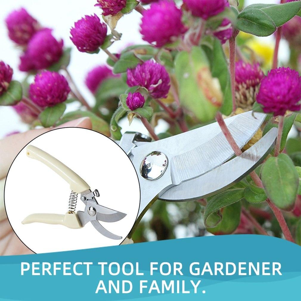 Garden Scissors Grafting Tool Fruit Tree Pruning Shears Bonsai Pruners Garden Shears Gardening Secateurs Scissor Stainless Steel