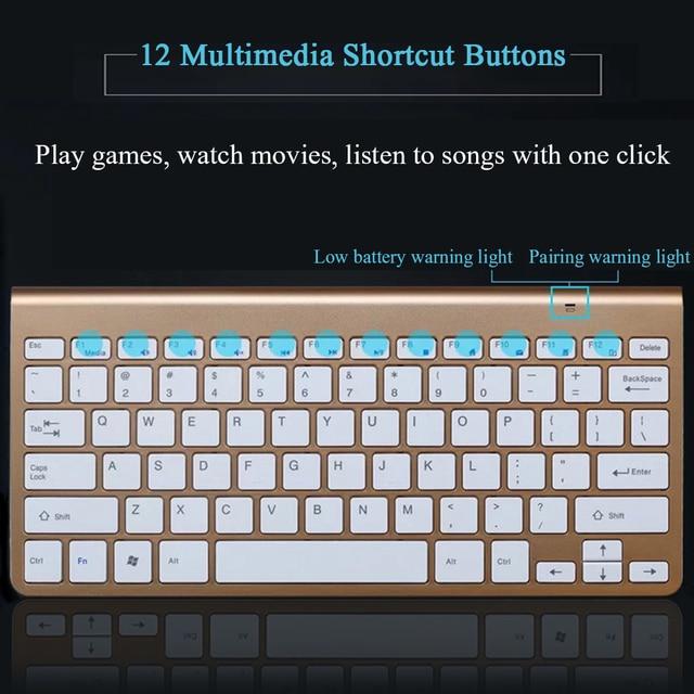 Business Accessories & Gadgets Laptop Accessories Multimedia Wireless Keyboard