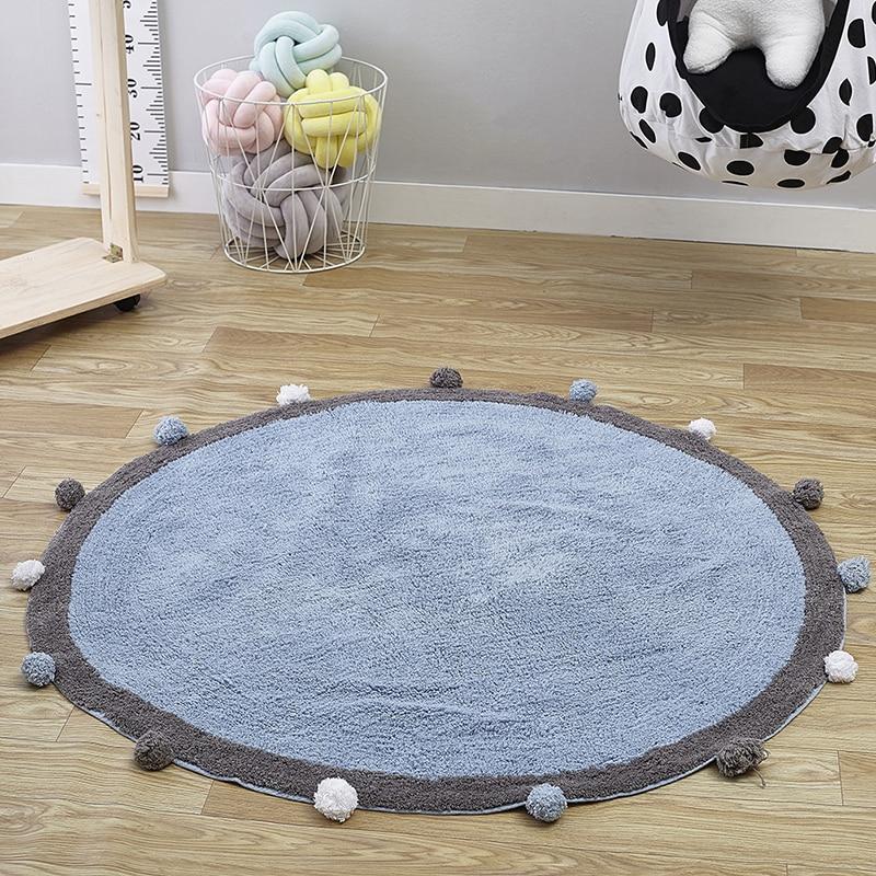 Baby Playmat Infant Velvet Mat Rug Crawling Mat  Developing Activity Non-slip Carpet Baby Room Decor