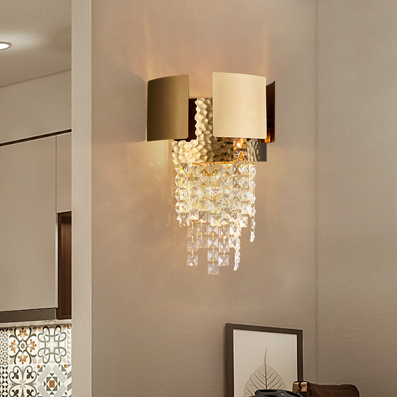 Wall Sconce Chandeliers Crystal