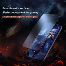 NILLKIN Full protective glass for iPhone 12 Pro Max/iphone 12 mini Full coverage matte tempered glass anti knock Anti Scratch