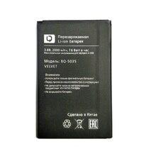 New 3.8V 2000mAh BQ 5035 Battery for BQ BQS-5035/BQ-5035 Velvet Mobile