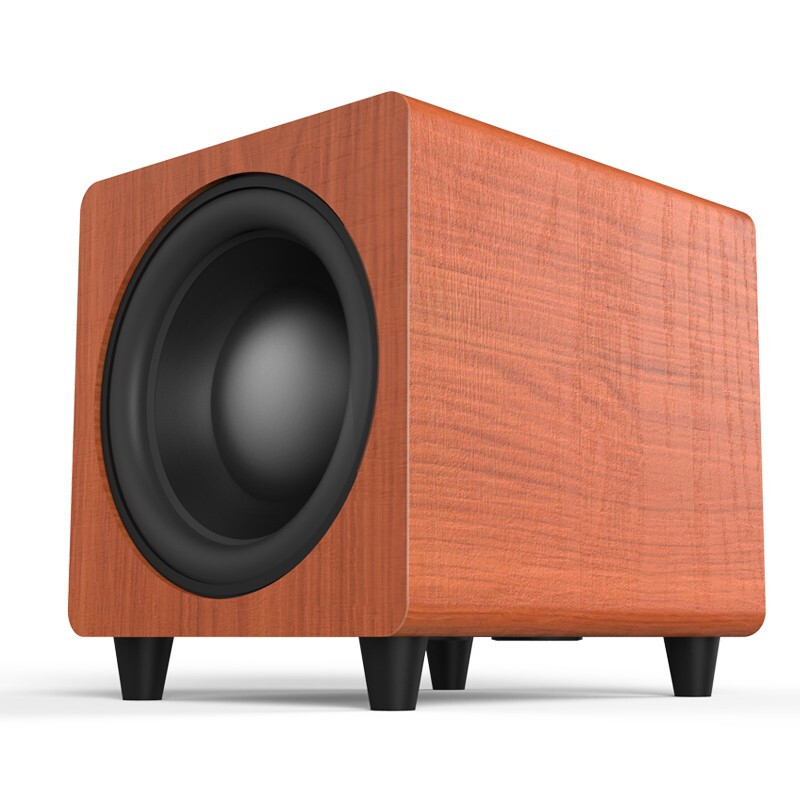 Pure Bass 10 Inch Speaker 150W Big Power <font><b>Subwoofer</b></font> TV Home Theater Louderspeaker Computer Music Player Wood Speakers Soundbar image