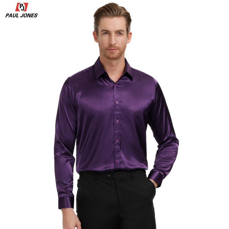 Mens Long Sleeve Oxford Formal Casual Suits Slim Fit T-Shirt Blouse Top Chest Pocket Fashion Leisure Workplace for Mens