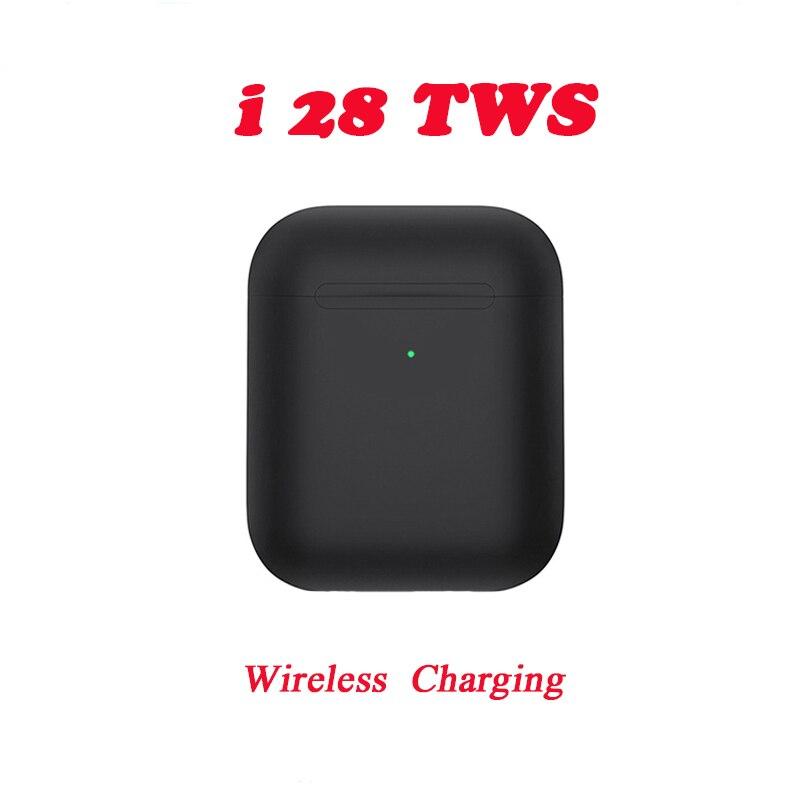 2020 New I28 TWS 1: 1  Pop Up Bluetooth 5.0 Earphone Wireless Touch Control Earbuds Sport Earphones For All Smartphones