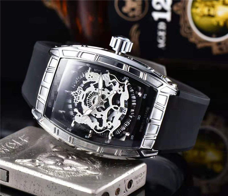 Mille Limited Edition Top Luxury Brand RM 1: 1 Same Watch Men's Sports Watches Reloj <font><b>Mujer</b></font> Richard Water Resistant Wristwatches image