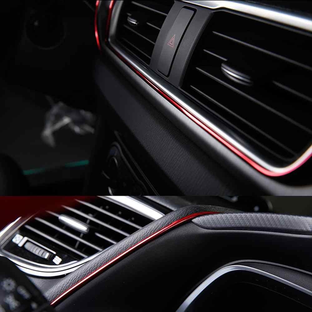 Super elastyczny 5M formowanie wnętrza samochodu listwa wykończeniowa drzwi szczelina krawędź listwa wykończeniowa uniwersalne dekoracje linia Auto Accessorie CSV