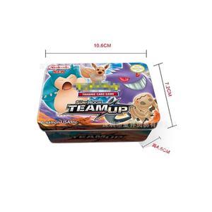 42 Pcs GX MEGA Shining TAKARA TOMY Cards Game Pokemon Battle Carte Trading Cards Game Children Toy