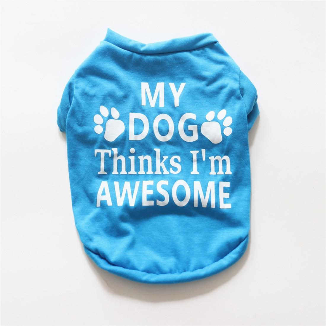 Футболка для домашних животных, удобная дышащая одежда для собак-питомцев, жилет, футболка, одежда для собак, кошек, летние рубашки, повседневные жилеты для чихуахуа