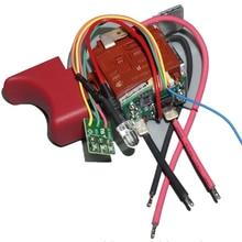 Defeng switch 10.8v12v chave de fenda ferramenta elétrica interruptor de velocidade suporte para a frente e exibição de energia reversa EGD-1112B