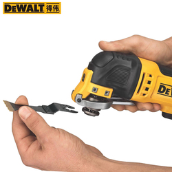 Obsługi DEWALT DCS355 18V bezszczotkowy szlifierka do obróbki drewna podwójna moc 2.0AH