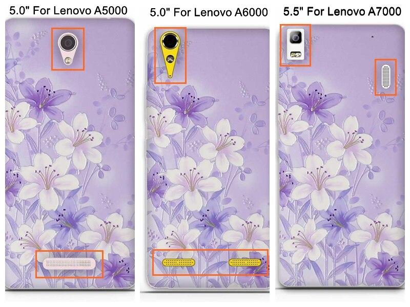 Capa Untuk Lenovo A6000 A6010 Kasus Penutup 3D Lucu Lembut TPU - Aksesori dan suku cadang ponsel - Foto 3