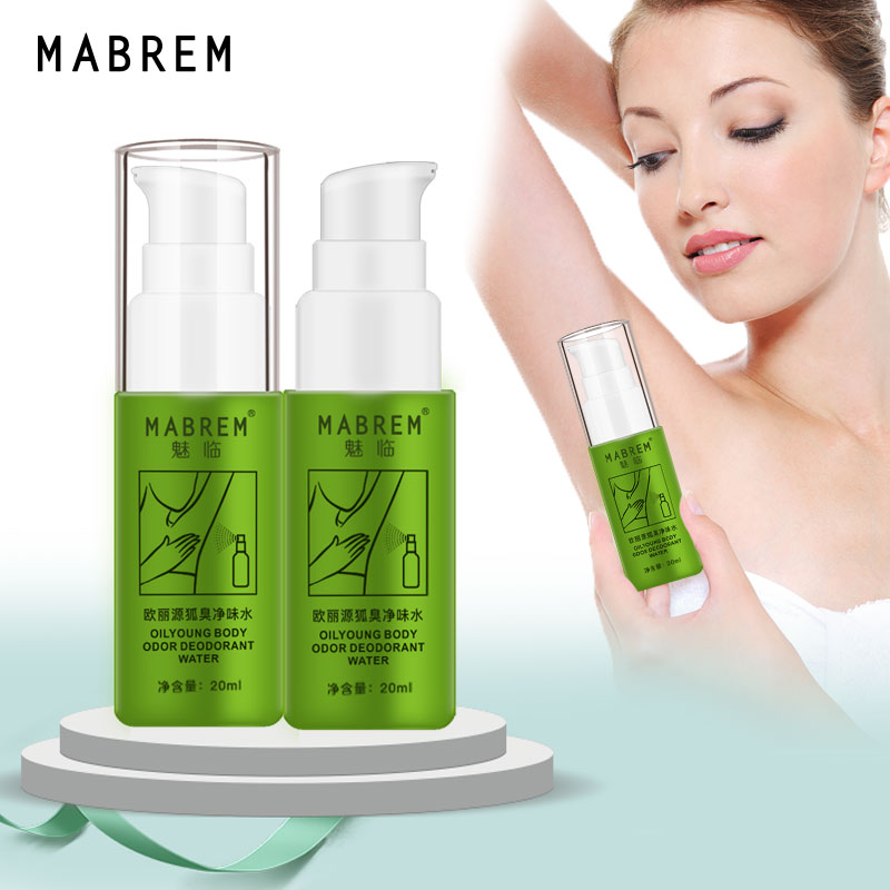2PCS  Body Odor Deodorant Water  Removes Summer Dress Underarm Sweat Deodorant To Remove Smell  Odor Skin, Body Cleansing