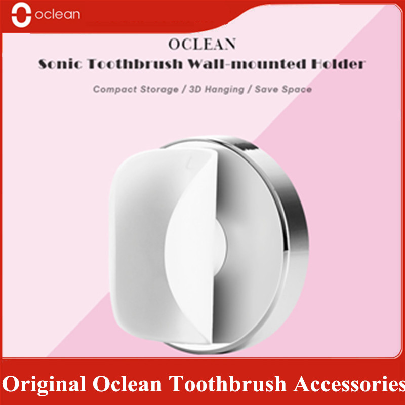 Original 2Pcs Oclean Replacement Brush Head For Oclean Air Electric Toothbrush /Oclean Air Wall-mounted Holder Z2