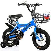 Bicicleta infantil 2-6-year-old bebê bicicleta 18 polegadas masculino e feminino ciclismo