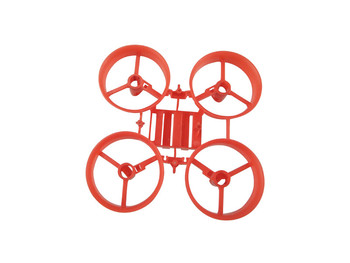 65mm DIY Frame Kit Drone Tiny Whoop Cover for E010 H36 Inductrix RC FPV Drone BetaFPV Cine Camera Whoop image