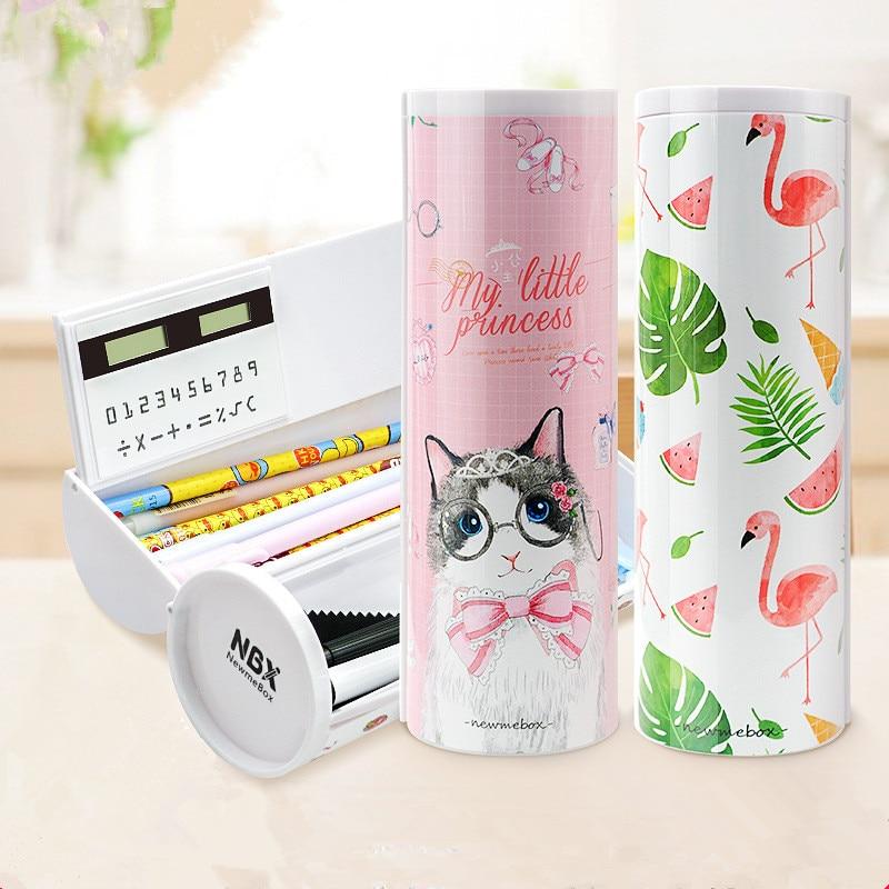 Unicorn Pencil Case Flamingo Estuche Escolar Newmebox Kawaii Trousse Scolaire Stylo Estuches Pencil Box Pencilcase NBX School