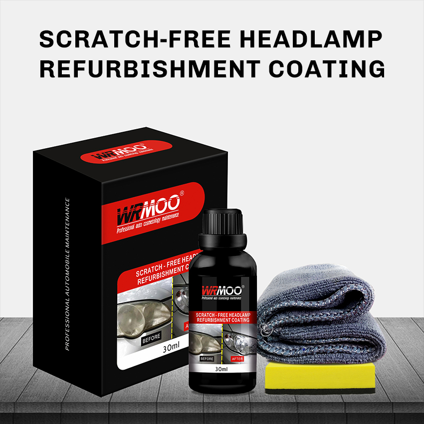 Car Headlamp Restoration Kit Anti Scratch Headlight Recover Polish Head Lamp Lens  Restorer Visibility New Shine Clarity