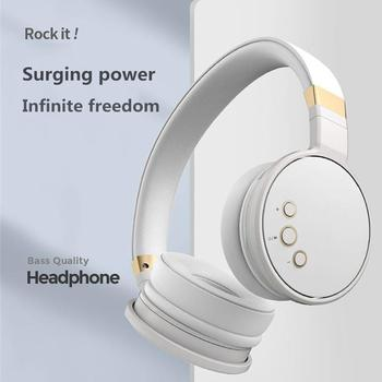 New Arrival Wireless Bluetooth 5.0 Headphones Foldable Sports Headset Stereo Music Earphone With Mic
