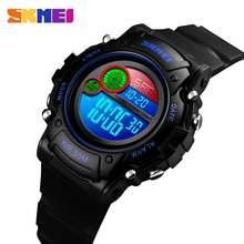 Skmei новый Стиль Водонепроницаемый Детские часы Мода пластиковый