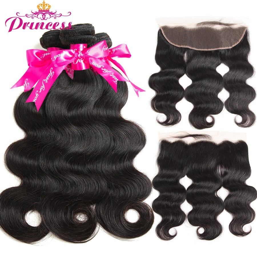 H8d7f537f7e8f493cace424ac86631f50z Princess 13x4 Lace Frontal Closure With Bundles Remy Brazilian Body Wave Human Hair Bundles With Frontal Closure Medium Ratio