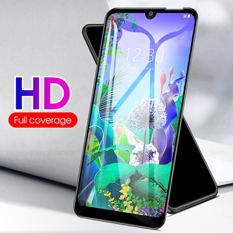 30D Full Cover Glass For LG Q60 K50 K40 V50 V40 V30 Plus K40 Tempered Glass For LG G6 G8 G7 K11 2018 K10 K8 Guard Screen Cover