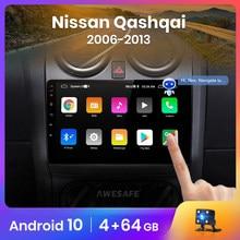 AWESAFE PX9 für Nissan Qashqai J10 2006-2013 Auto Radio AI Stimme Multimedia video player GPS Keine 2din 2 din Android 10,0 2GB + 32GB