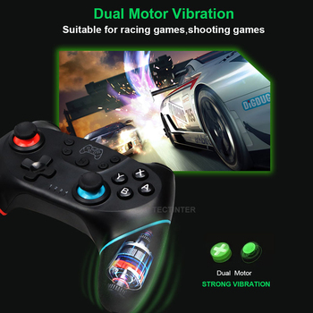 Wireless Bluetooth Gamepad For Nintendo Switch Pro NS-Switch Pro Game joystick Controller For Switch Console with 6-Axis Handle 5